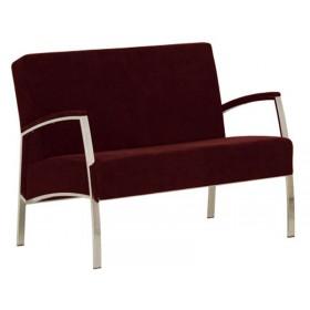 Кресло INCANTO (Инканто) Duo chrome S двухместное с мягкими накладками
