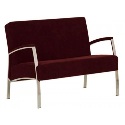 Купить Кресло INCANTO (Инканто) Duo chrome S двухместное с мягкими накладками