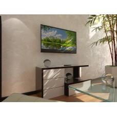Тумба TV-line 12 1260х350х600h МДФ венге