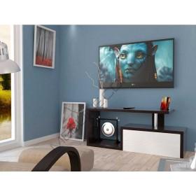 Тумба TV-line 2 1260х350х530h МДФ венге