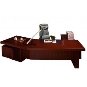 Стол руководителя Мукс (Muks) палисандр YDK303, 2700х960 (1900)х760
