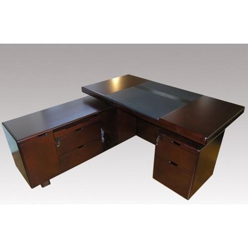 Купить Стол руководителя Мукс (Muks) палисандр YDK606, 1600х800 (1750)х760