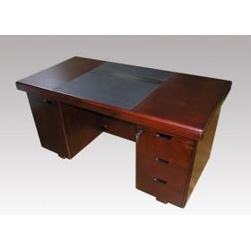 Стол руководителя Мукс (Muks) палисандр YDK607, 1400х700х760