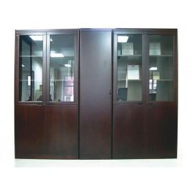 Шкафы и гардероб Мукс (Muks) палисандр (YCB509А и YCB509W), 2550х420х2018