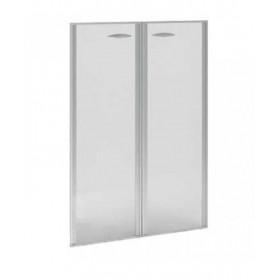 Двери Верона стеклянные в алюминиевом профиле ВР.РСО12, 900x1289