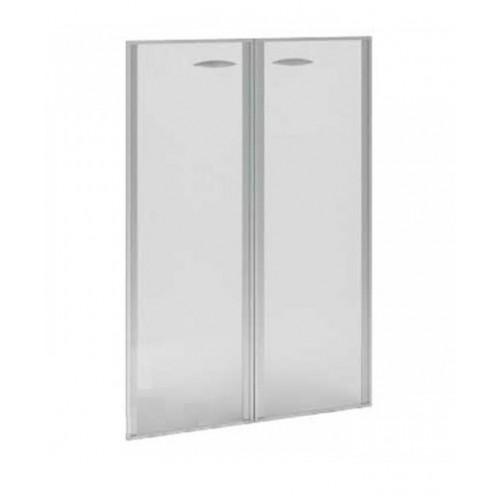 Купить Двери Верона стеклянные в алюминиевом профиле ВР.РСО12, 900x1289