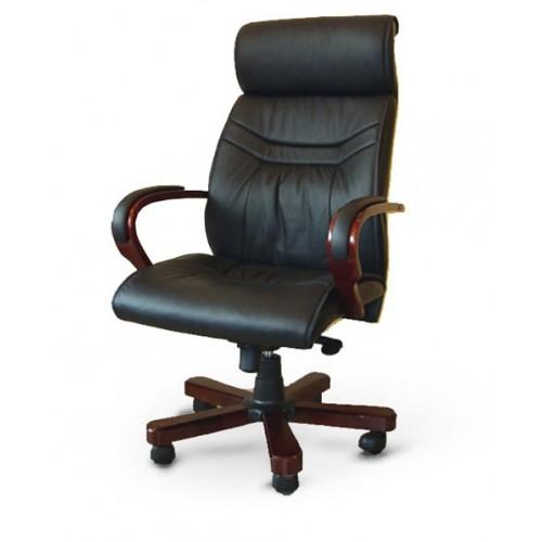 Купить Кресло руководителя Доминго кожа