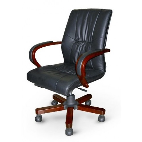 Купить Кресло конференционное Корсика низкое кожа