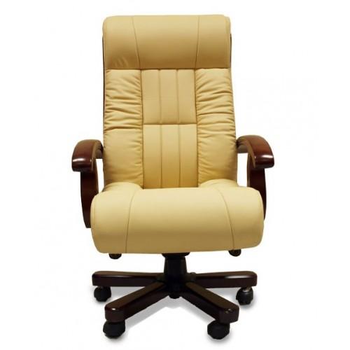 Купить Кресло руководителя Мурано кожа, бежевое