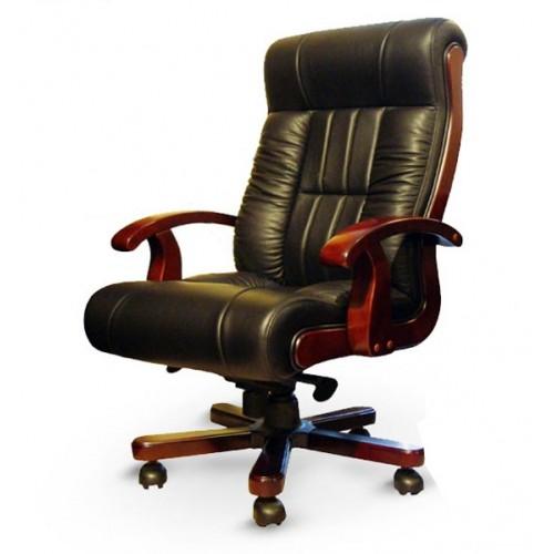 Купить Кресло руководителя Мурано кожа, черное