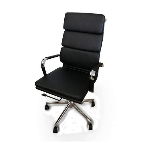 Купить Кресло руководителя Solano 2 черное кожа