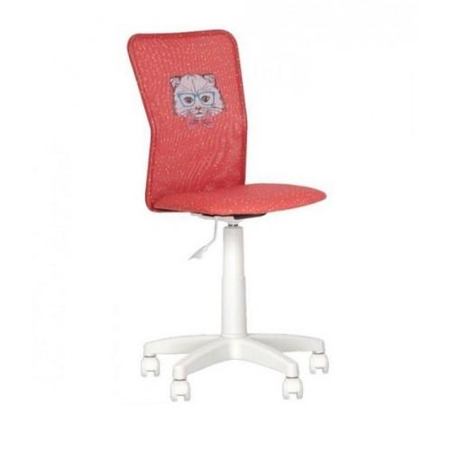 Купить Кресло детское Junior white GTS с белой базой