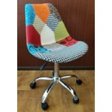 Кресло офисное Астер мягкое пэчворк
