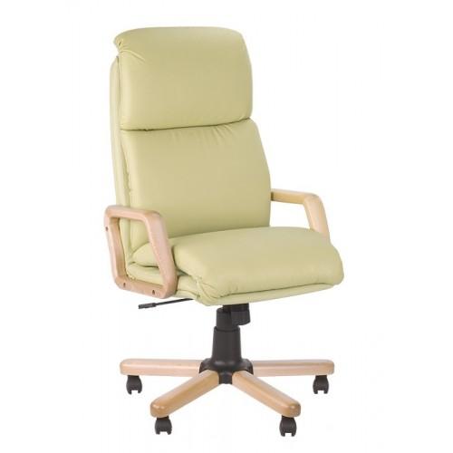 Купить Кресло NADIR (Надир) с деревянными подлокотниками и базой