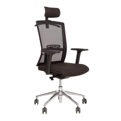Купить Кресло STILO с сетчатой спинкой и алюминиевой базой