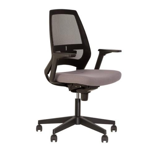 Купить Кресло для персонала 4U черная база, сетчатая спинка