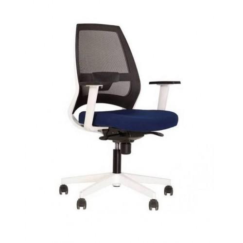 Купить Кресло для персонала 4U белая база, сетчатая спинка