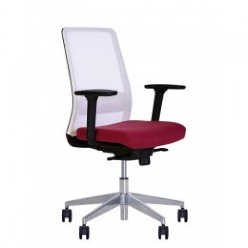 Купить Кресло для персонала FRAME R ES алюминиевая база, сетчатая спинка