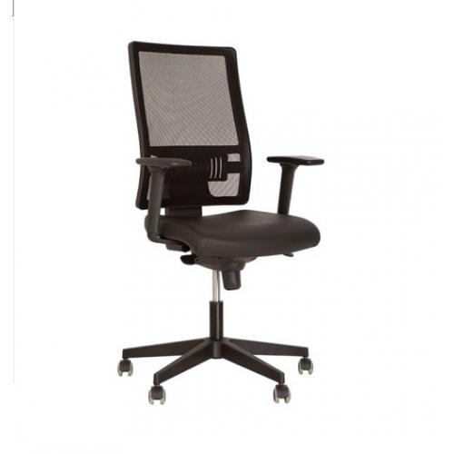 Купить Кресло для персонала Taktik пластиковая база, сетчатая спинка
