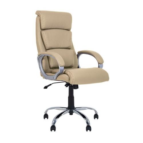 Купить Кресло руководителя Delta (Дельта) мягкое хром
