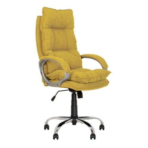 Купить Кресло руководителя Yappi (Яппи) мягкое хром