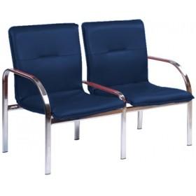 Кресло STAFF-2 chrome двухместное