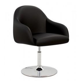 Кресло WAIT 1S chrome с дисковой базой