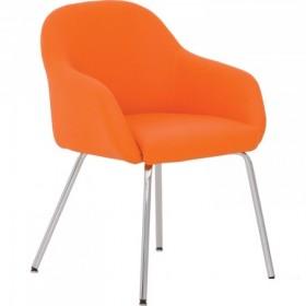 Кресло WAIT 4L chrome с металлической рамой