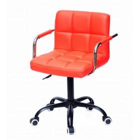 Кресло офисное ARNO ARM (АРНО АРМ) экокожа, красный (1007)