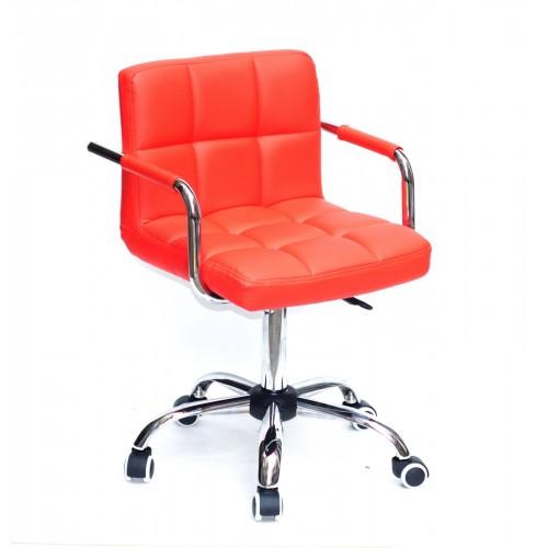 Купить Кресло офисное ARNO ARM (АРНО АРМ) CH Office экокожа, красный (1007)
