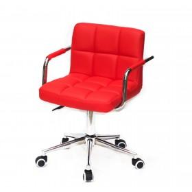 Кресло офисное ARNO ARM (АРНО АРМ) MODERN Office экокожа, красный (1007)