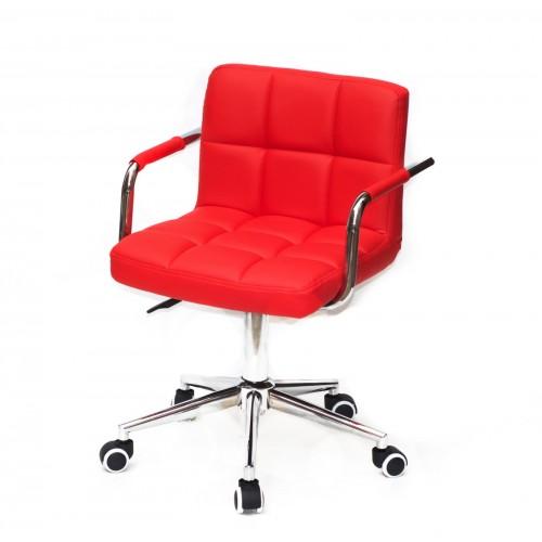Купить Кресло офисное ARNO ARM (АРНО АРМ) MODERN Office экокожа, красный (1007)