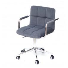 Кресло офисное ARNO ARM (АРНО АРМ) MODERN Office бархат, серый (B-1004)