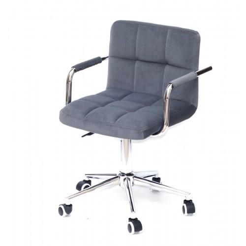 Купить Кресло офисное ARNO ARM (АРНО АРМ) MODERN Office бархат, серый (B-1004)