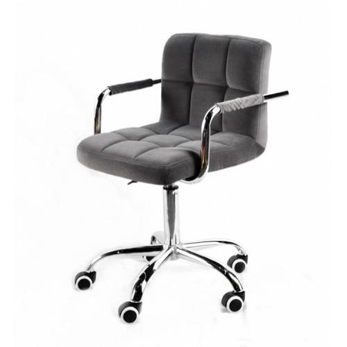 Купить Кресло офисное ARNO ARM (АРНО АРМ) CH Office бархат, серый (В-1004)