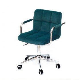Кресло офисное ARNO ARM (АРНО АРМ) MODERN Office бархат, зеленый (B-1003)