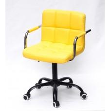 Кресло офисное ARNO ARM (АРНО АРМ) экокожа, желтый (1006)