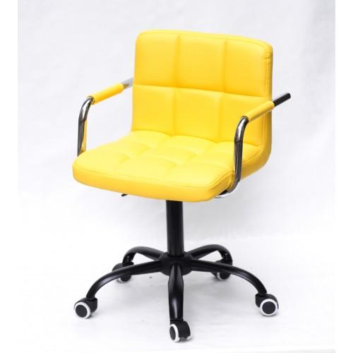 Купить Кресло офисное ARNO ARM (АРНО АРМ) экокожа, желтый (1006)