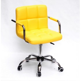 Кресло офисное ARNO ARM (АРНО АРМ) CH Office экокожа, желтый (1006)