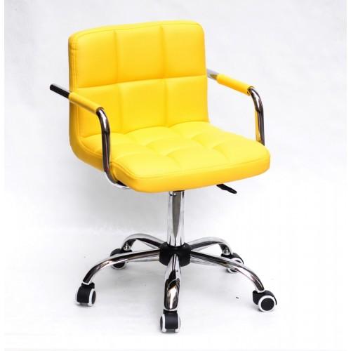 Купить Кресло офисное ARNO ARM (АРНО АРМ) CH Office экокожа, желтый (1006)