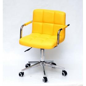 Кресло офисное ARNO ARM (АРНО АРМ) MODERN Office экокожа, желтый (1006)