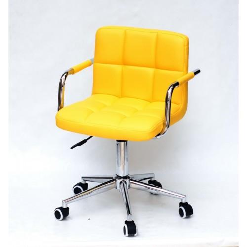 Купить Кресло офисное ARNO ARM (АРНО АРМ) MODERN Office экокожа, желтый (1006)