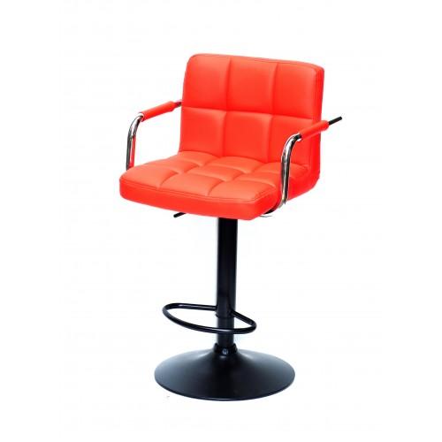 Купить Кресло барное ARNO ARM (АРНО АРМ) экокожа, красный (1007)