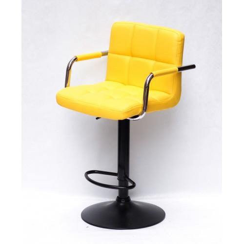 Купить Кресло барное ARNO ARM (АРНО АРМ) экокожа, желтый (1006)