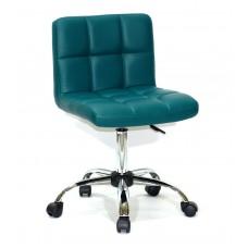 Кресло офисное ARNO (Арно) хромированная база, зеленый кожзам