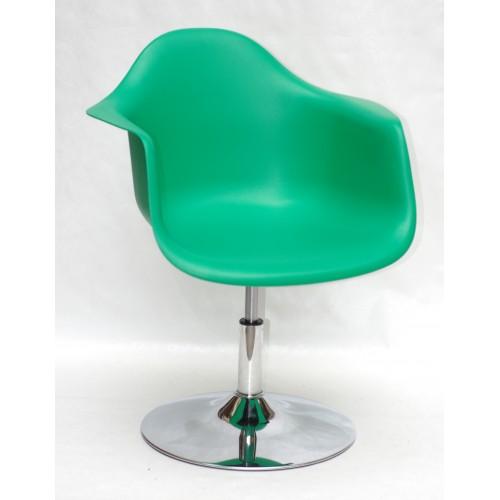 Купить Кресло Leon (Леон) поворотное на блине зеленое (47), пластик
