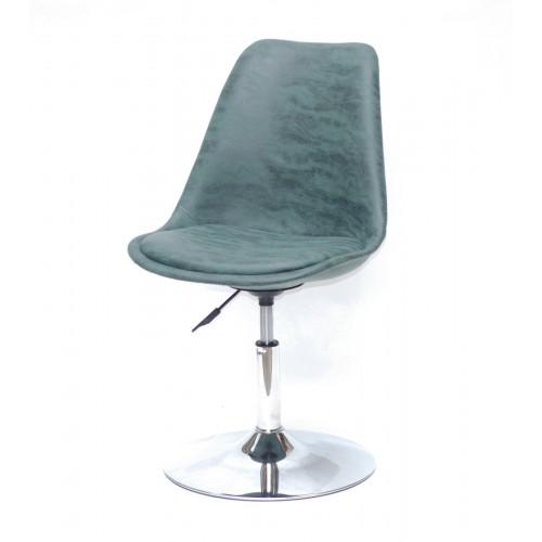 Купить Кресло барное Milan (Милан) хромированная база, зеленый MR (202)