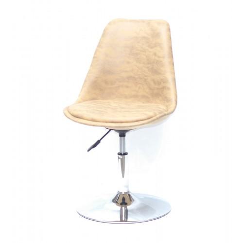 Купить Кресло барное Milan (Милан) хромированная база, желтый MR (201)