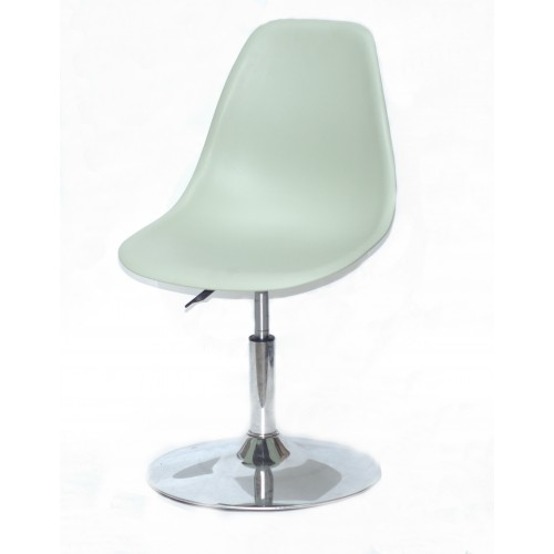 Купить Кресло барное Nik (Ник) хромированная база, пластик зеленый (45)