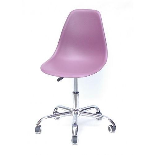 Купить Кресло офисное Nik (Ник) хромированная база, пластик пурпурный (62)